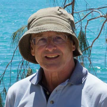 Ray Plowman at Cape Gloucester 's Nelly Bay in Queensland