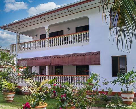 Green Palm Apartments at Anse Les Pins on Mahé island.