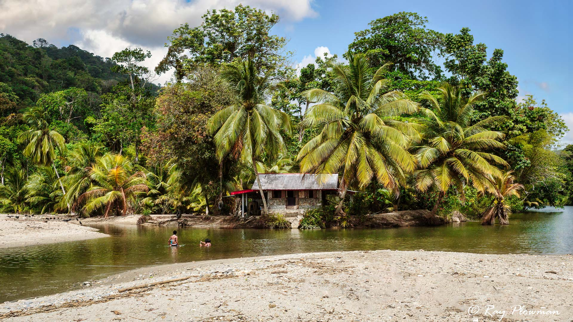 House on Grande Riviere River, North East Coast of Trinidad