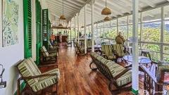 The Veranda at Asa Wright Nature Centre in the Arima Valley, Trinidad