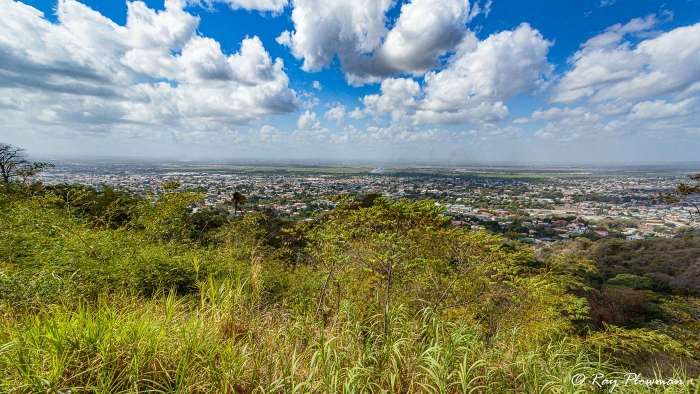 Panoramic View from Mt St Benedict Abbey in Trinidad