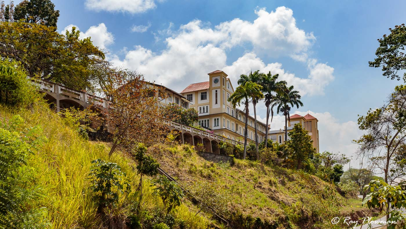 Mt St Benedict Abbey at St. Augustine in Trinidad